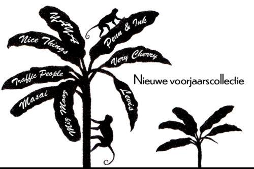 -Banner Nieuwe voorjaarscollectie-