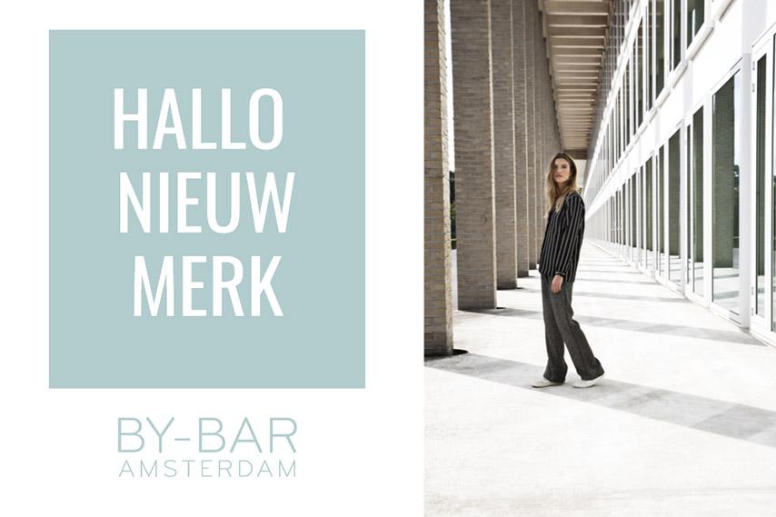 BY-BAR Nieuw merk bij De Klaproos