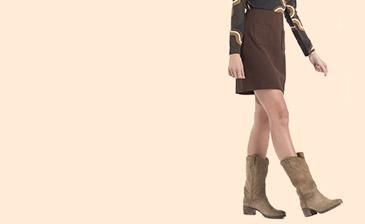 Mooie korte rok met zakken van No man's Land