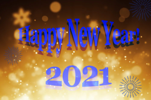 Happy New Year namens het Klaproos team