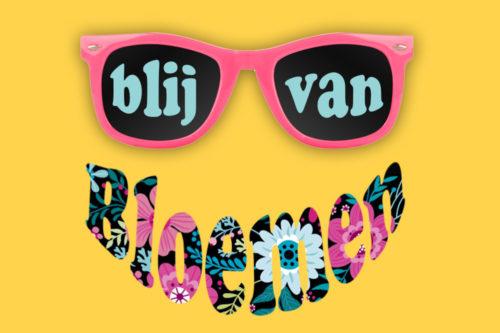 Banner Blij van Bloemen
