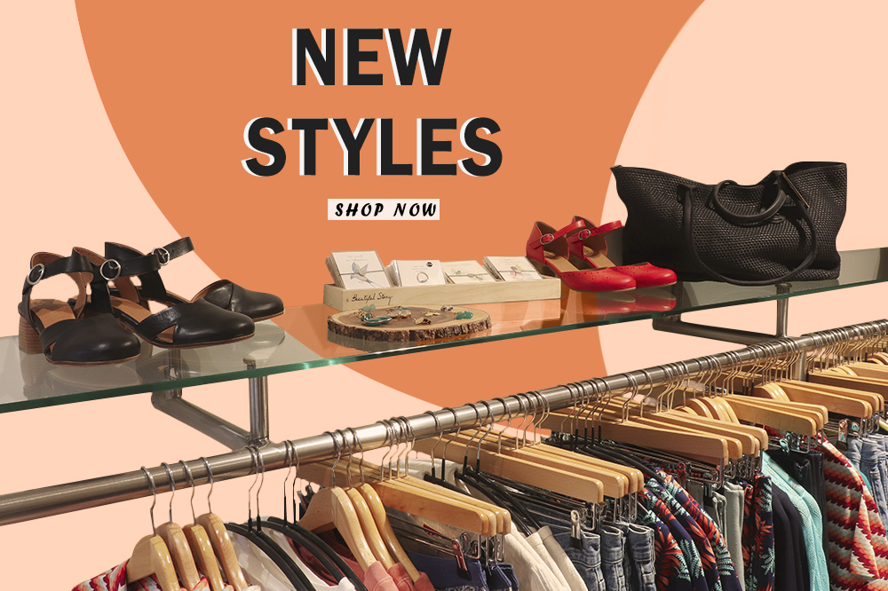 New Styles shop now